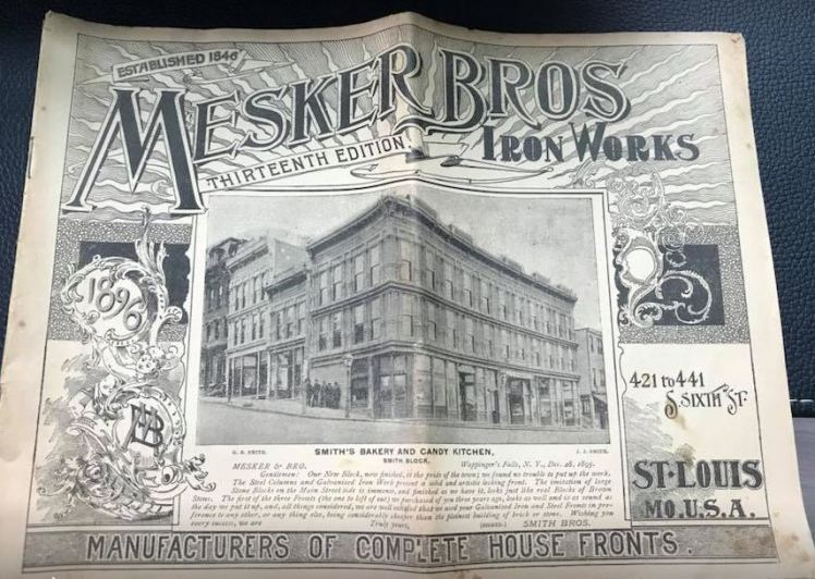Mesker Brothers advertisement St. Louis