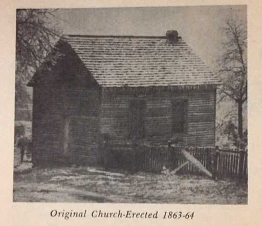 Salem Farrar first church building