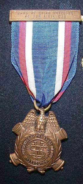 Sons of Veterans medal