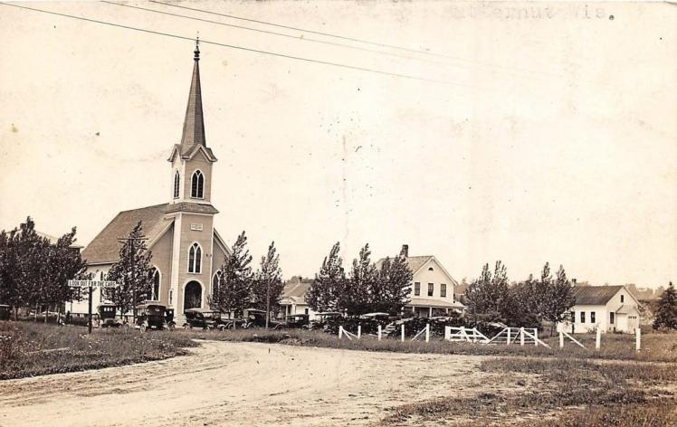 St. Paul's Lutheran Butternut WI vintage