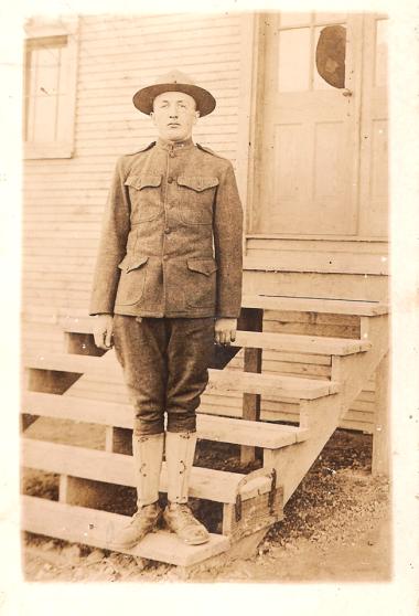 Wilhelm Kasten Jr. WWI uniform 1