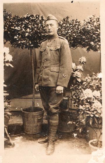 Wilhelm Kasten Jr. WWI uniform 2