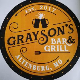 Grayson's Bar & Grill sign