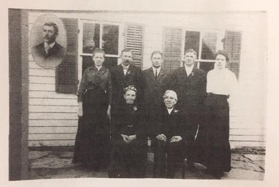 Heinrich and Engel Bellmann family