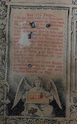 Miesner Luedemann marriage certificate Psalm 127