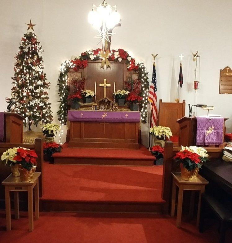 St. John's UCC Interior Fruitland MO