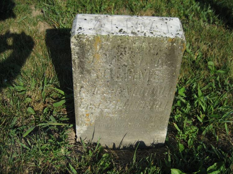 Alma Boehme gravestone St. Paul's Wittenberg MO
