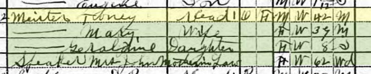 Anton Meister 1920 census Fort Smith AR