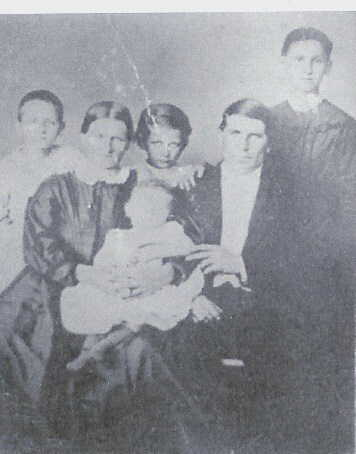 Christian and Ernestine Tallert Ruehling family