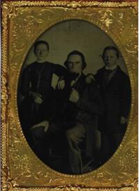 Friedrich Albert Fischer w two children