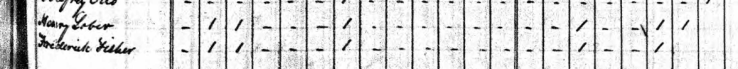 Friedrich Fischer 1840 census Perry County MO