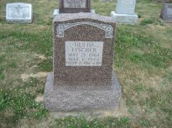 Hulda Fischer gravestone Trinity Altenburg MO
