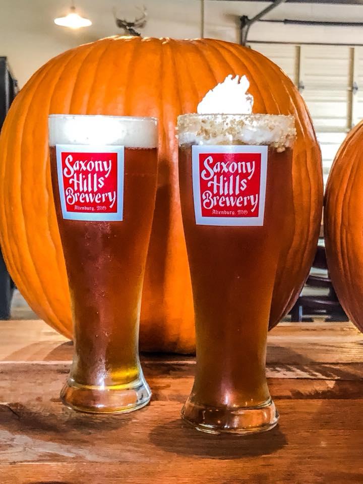 Saxony Hills Brewery pumpkin