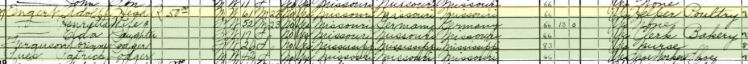 Adolph Engert 1930 census St. Louis MO