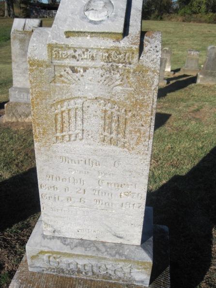 Martha Mueller Engert gravestone Immanuel Altenburg MO