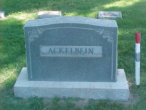 ackelbeing family marker lakeside canon city co