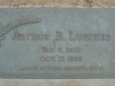 arthur lueders gravestone concordia frohna mo