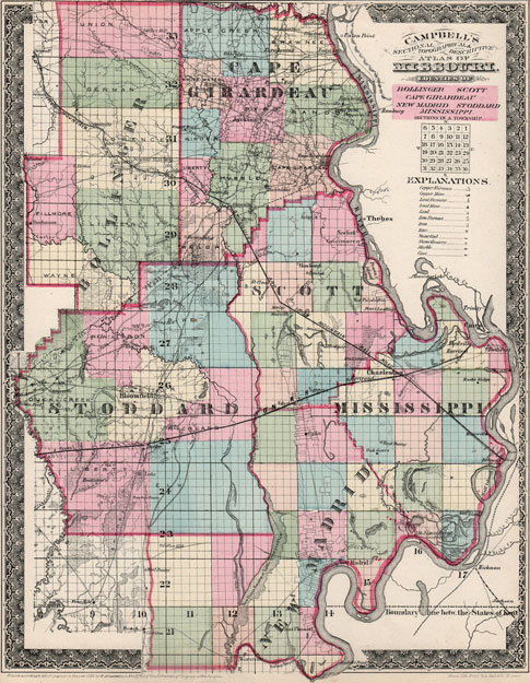 bollinger-cape-girardeau-mississippi-new-madrid-scott-stoddard-counties-missouri-1872-campbells-historic-map-reprint