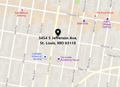 christian augustin address st. louis mo map