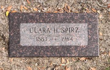 clara spirz gravestone greenwood memorial park san diego ca
