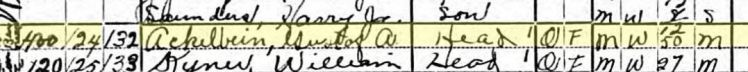 gustav ackelbein 1920 census cripple creek co