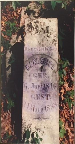 karl spirz gravestone wittenberg public cemetery mo