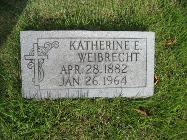 katherine weibrecht gravestone zion crosstown mo