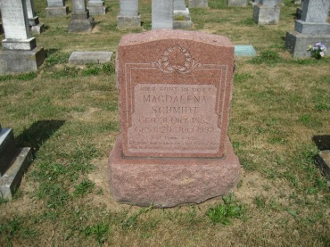maria schmidt gravestone trinity altenburg mo