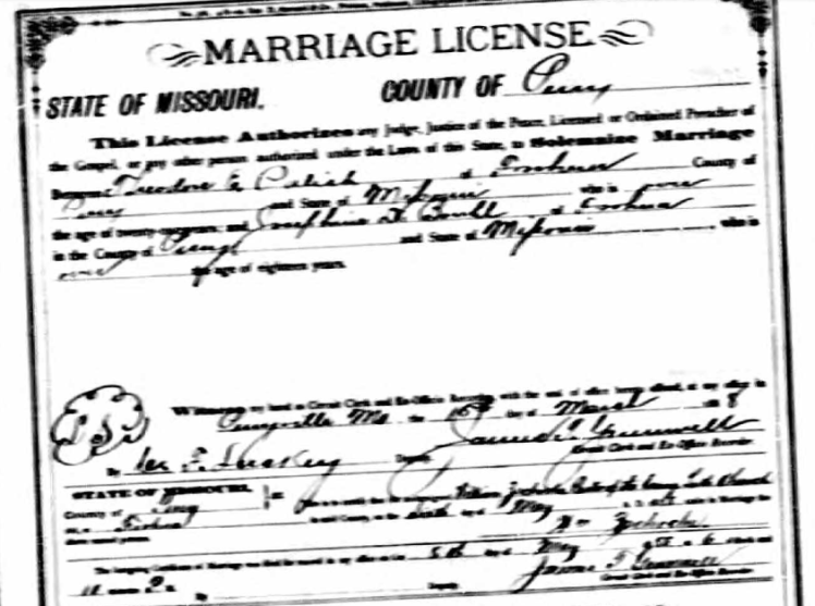 palisch bruhl marriage license