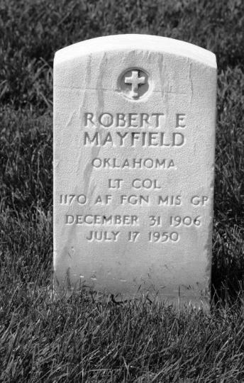 robert mayfield gravestone jefferson barracks st. louis mo