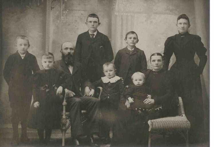 25. Henry Eggers family