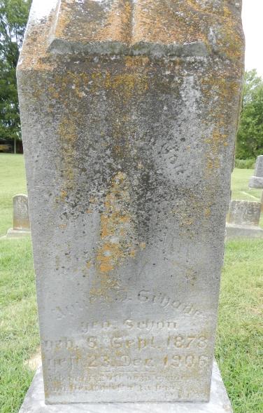 Agnes Schade gravestone Immanuel Altenburg MO