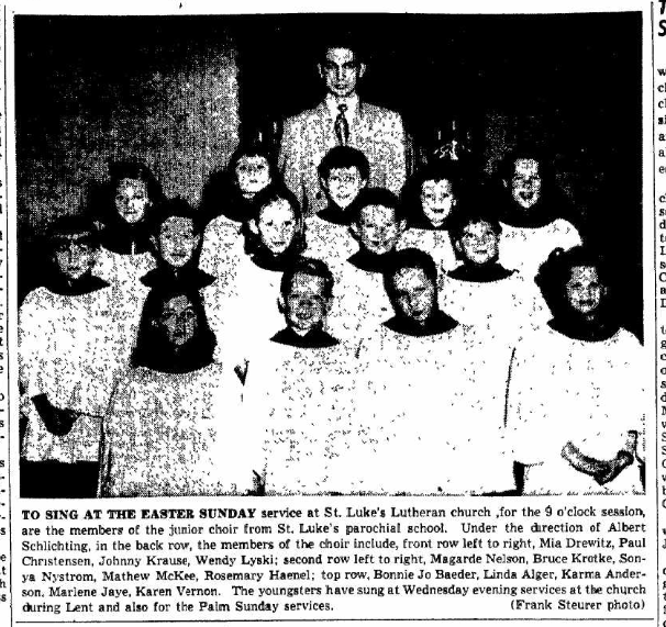 Albert Schlichting choir director