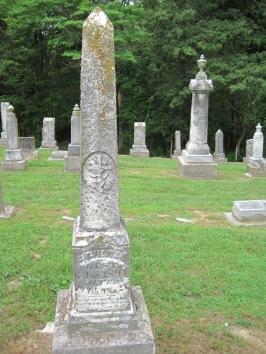 Benjamin Fiehler gravestone Concordia Frohna MO