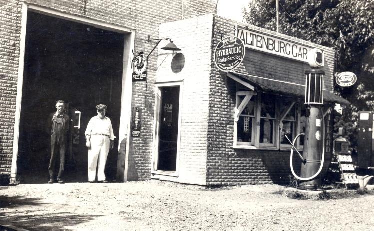 Fiehler Altenburg garage early 1930's