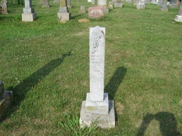Heinrich Fritsche gravestone Salem Farrar MO