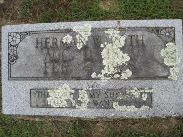Herman Roth gravestone Concordia Frohna MO