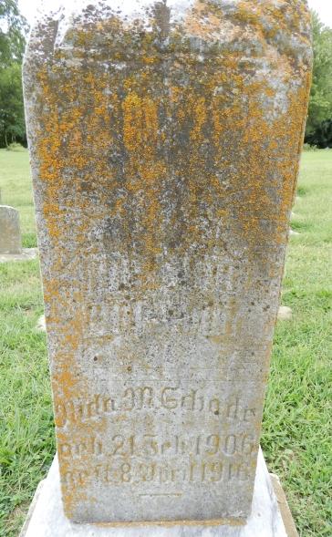 Neta Schade gravestone Immanuel Altenburg MO