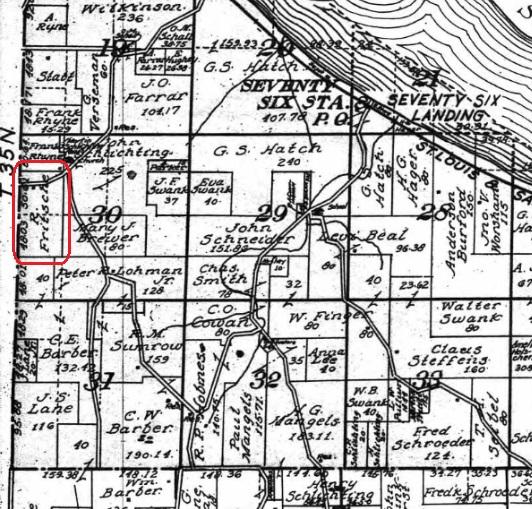 R Fritsche land map 1915