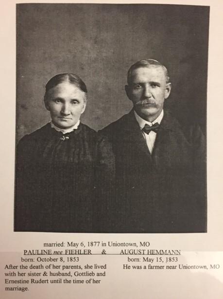 August and Pauline Hemmann