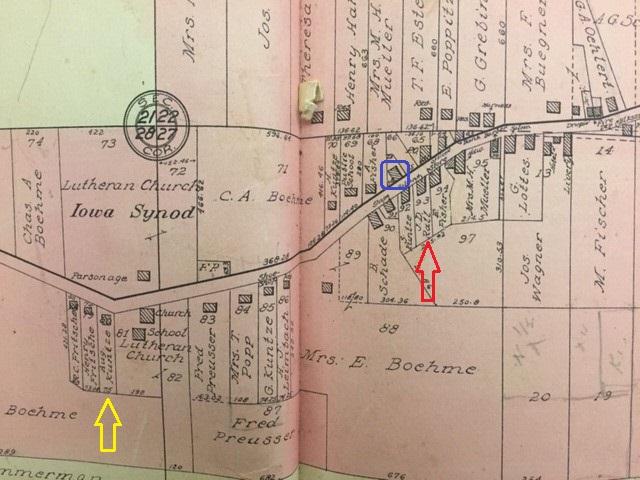 City of Altenburg 1915 land atlas Fritsche Schmidt