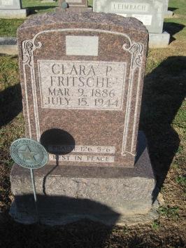 Clara Fristche gravestone Immanuel Altenburg MO
