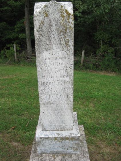 Ernestine Roth gravestone Concordia Frohna MO