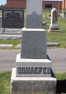 Heinrich Schaefer gravestone 1 Jackson Cemetery Jackson MO