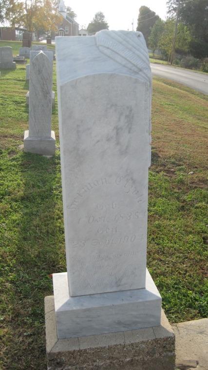 Herman Etzold gravestone Salem Farrar MO