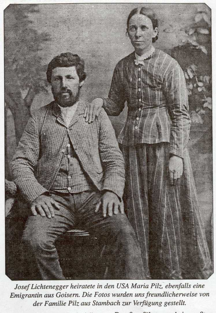 Joseph and Maria Lichtenegger younger