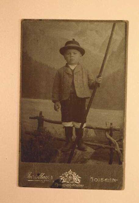 Joseph LIchtenegger young