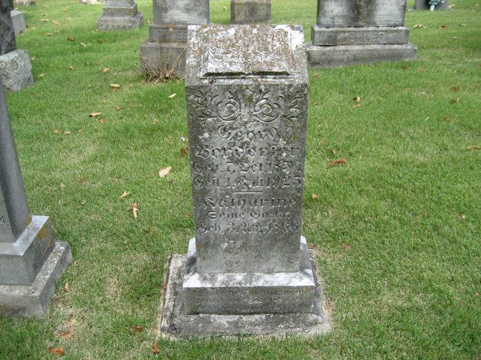 Katherine Weber Boxdorfer gravestone Zion Longtown MO