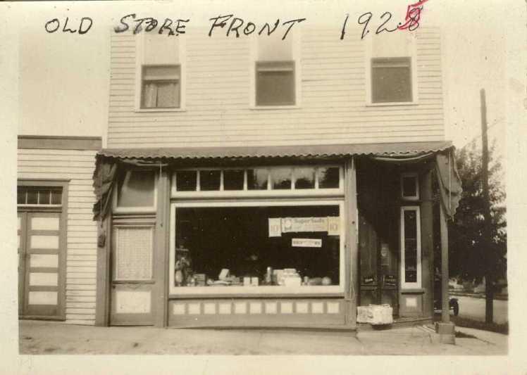 Lichtenegger storefront 1928