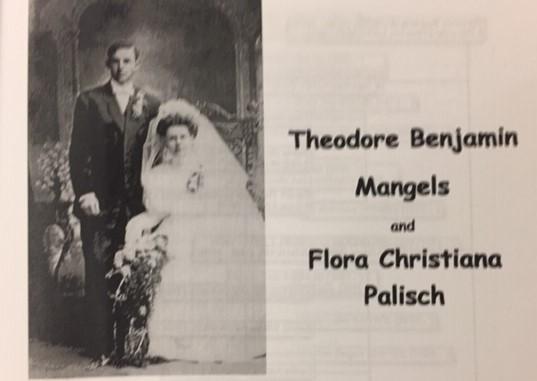 Mangels Palisch wedding